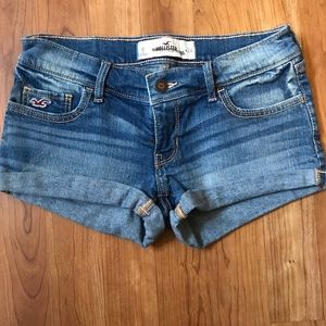 Hollister Denim Jean Shorts Sz 0/24w